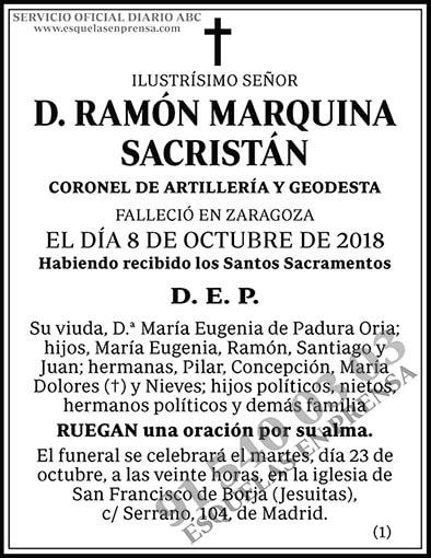 Ramón Marquina Sacristán